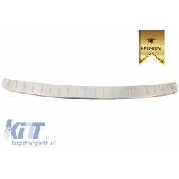 Rear Bumper Protector Sill Plate Foot Plate Aluminum Cover suitable for BMW X3 (G01) (2017+)