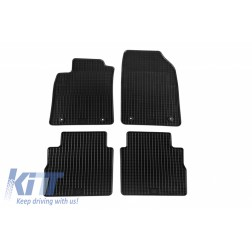 Floor mat Rubber Black suitable for OPEL Corsa C 2000-2006