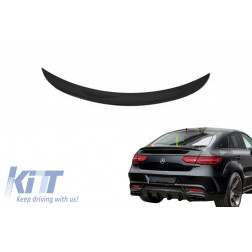 Trunk Boot Spoiler suitable for MERCEDES GLE Coupe C292 (2015-2018) Piano Black