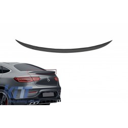 Trunk Boot Spoiler suitable for MERCEDES GLC C253 Coupe (2015-Up) A-Design Piano Black