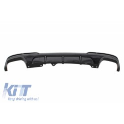 Double Outlet Air Diffuser suitable for BMW 5 Series F10 F11 (2011-2017) M-Performance Design Piano Black