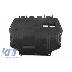 Bottom engine cover fits to: Audi A3 II 8P 2009 - 2013; Volkswagen GOLF VI 2008 - 2013, TOURAN I 2010 - 2015