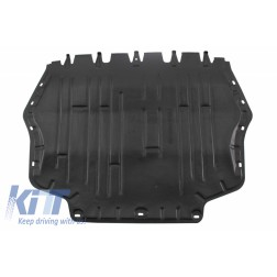 Bottom engine cover fits to: Audi A3 II 8P, S3 8P 2003 - 2013; Seat ALTEA 2004 - 2015, LEON II 2005 - 2013, TOLEDO III 2004 - 2009; Skoda OCTAVIA II 2004 - 2013, SUPERB II 2008 - 2013, YETI 2010 - 201