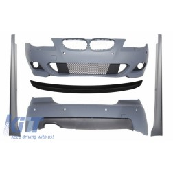 Body Kit suitable for BMW 5 Series E60 (2007-2010) M-Technik Look Trunk Spoiler PDC 18mm