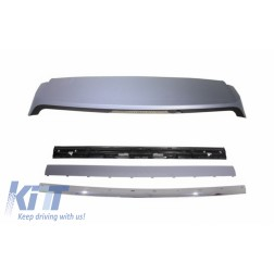 Roof Spoiler with Kit Rear Trunk Tailgate Chrome suitable for Range ROVER Sport L320 (2005-2009) Autobiography Design