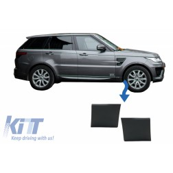 Front Lower Fender Moldings suitable for Land Land Rover Range Rover Sport L494 (2013-up) Black