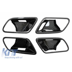 Inner Door Cover Handle Bowl Trim suitable for Mercedes A-Class W177 V177 (2018-Up) LHD Carbon