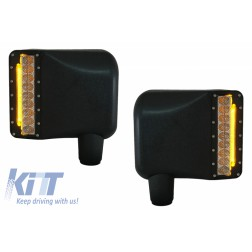 Side Mirror LED Lights Turn Signal Offroad suitable for JEEP Wrangler JK Rubicon (2007-2016)
