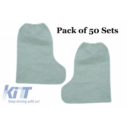 Pack of 50 sets Tall Boots 100% POLYPROPYLENE