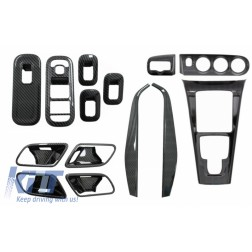 Complet Kit Interior Frames Decorative suitable for Mercedes A W177 V177 (2018-up) Carbon Film