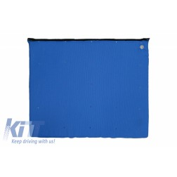 Entry Door Mat Blue Entrance for Disinfection Waterproof fabric Washable 90 degrees