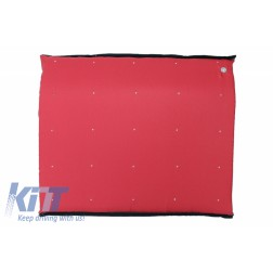Entry Door Mat RED Entrance for Disinfection Waterproof fabric Washable 90 degrees