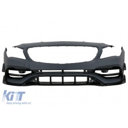 Front Bumper Suitable for Mercedes W117 X117 CLA (2013-2018) CLA45 Design