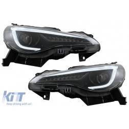 Headlights LED suitable for Toyota 86 (2012-2019) Subaru BRZ (2012-2018) Scion FR-S (2013-2016) with Sequential Dynamic Turning Lights