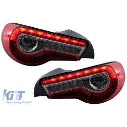 Taillights LED suitable for TOYOTA 86 (2012-up) SUBARU BRZ (2012-up) SCION FR-S (2013-2016) with Sequential Dynamic Turning Lights