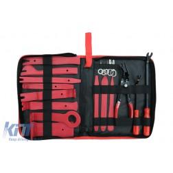 Auto Trim Removal Tool Kit 19 PCS Portable Zipper Bag