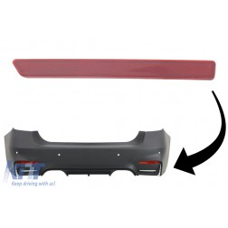 EVO Design Rear Bumper Reflector suitable for BMW F30 (2011-2019) Right Side