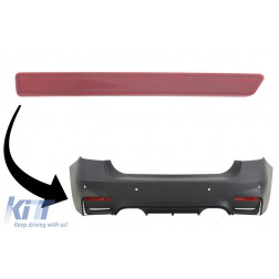 EVO Design Rear Bumper Reflector suitable for BMW F30 (2011-2019) Left Side