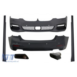 Complete Body Kit suitable for BMW 5 Series G30 (2017-up) with Exhaust Muffler Tips M-Tech Design
