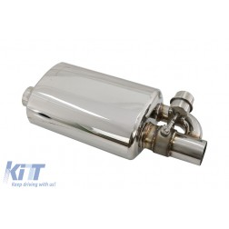 Universal Exhaust with Wireless Valve and Remote Control