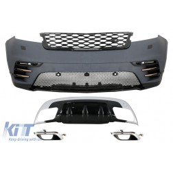 Body Kit suitable for Land Range Rover Velar SUV L560 (2017-Up) with DRL LED Dynamic Look