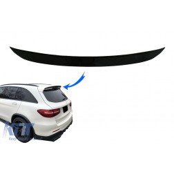 Rear Roof Spoiler suitable for Mercedes GLC X253 SUV (2015-up) Black