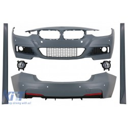 Complete Body Kit  with Fog Light Projectors suitable for BMW 3 Series F30 (2011-2019) M-Technik Design