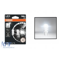 OSRAM LEDriving SL W5W Auxiliary Light LED Bulb License Plate/Position Light 12V 1.12 W