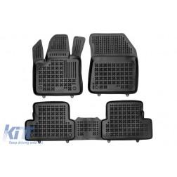 Floor mat Rubber Black suitable for Opel GRANDLAND X 2017-Up