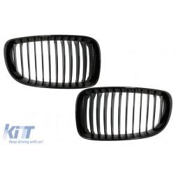 Central Kidney Grilles suitable for BMW 1 Series E81 E82 E87 E88 LCI (2007-2011) Piano Black