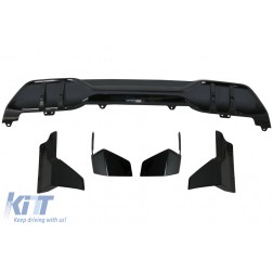 Aero Body Kit Front Bumper Lip and Air Diffuser suitable for BMW X5 G05 (2018-up) M Performance Design Piano Black