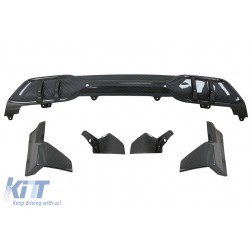Aero Body Kit Front Bumper Lip and Air Diffuser suitable for BMW X5 G05 (2018-up) M Performance Design Carbon Look