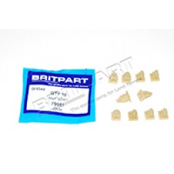 .Headlamp Mounting To Body Locknut / Grommet (Britpart) 79051 *Pack Of 10*