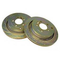 Brake Discs x 2 EBC (SDB000646) DA4188