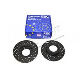 Brake Discs (EBC) LR018026 SDB000330 DA4855