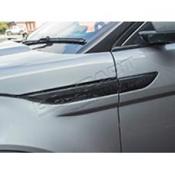 Side Vent Pair - Black Gloss (Britpart) - DA8991