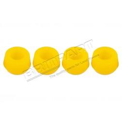 552819PY-GIALLO | Boccola di collegamento barra antirollio e boccola ammortizzatore in poliuretano (x4)