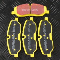 DA4335 | Set pastiglie freno anteriore Ebc Yellow Stuff
