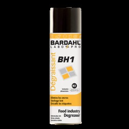 Dégraissant BH1 alimentaire aerosol Bardahl - 400ml