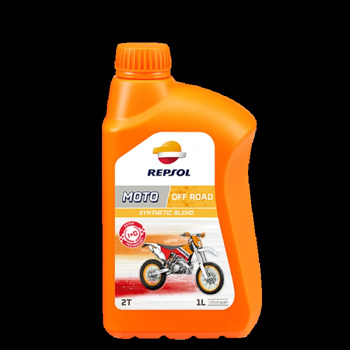 Huile Moteur Moto Repsol Off Road 2T