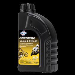 Huile Moto Silkolene Comp 4 15W50 XP