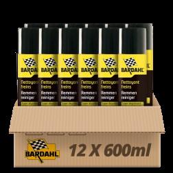 Pack 12 Nettoyants freins Super dégraissant Bardahl